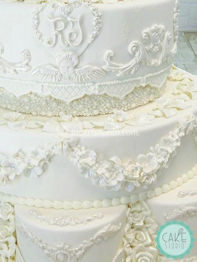 Wedding cake william & kate