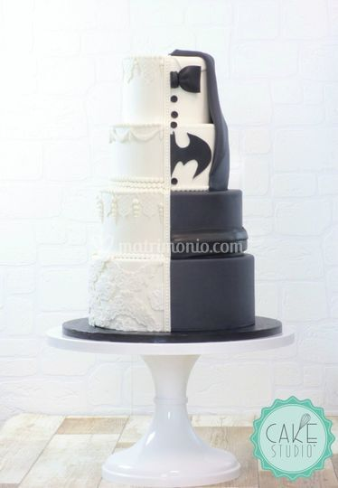 Torta sposa e sposo Batman