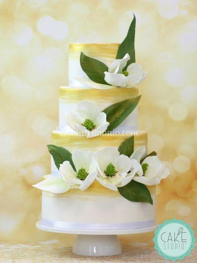 Magnolie in pasta di zucchero