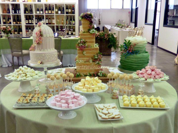 Esposizione di Wedding Cakes