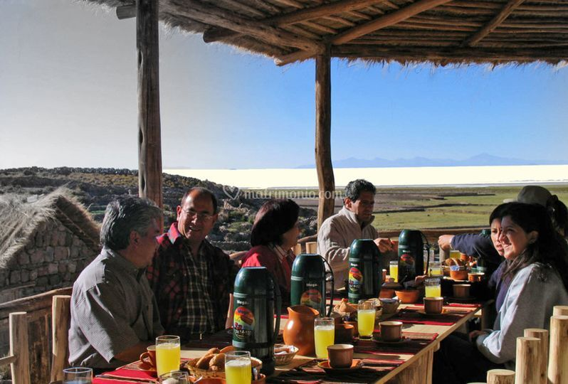 Colazione nelle Ande