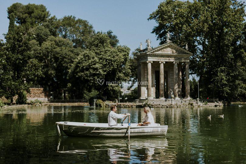 Sessione a Villa Borghese