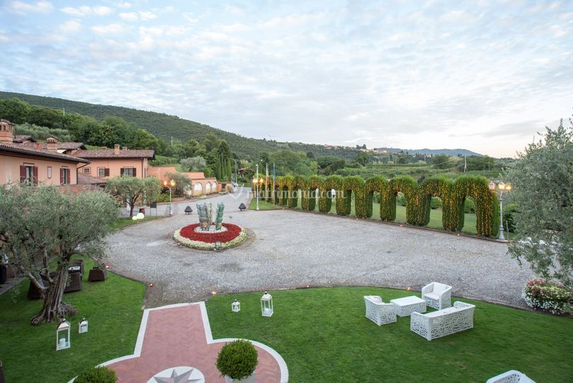 Esterni Villa Baiana