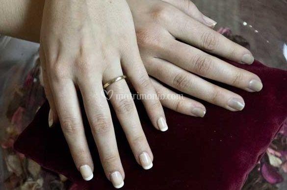 Manicure delicato