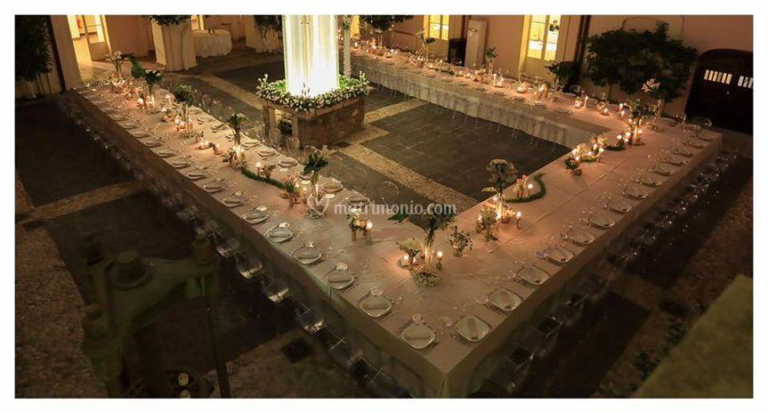 Tavolo imperiale Castello