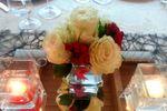 Composizioni fiori e specchi