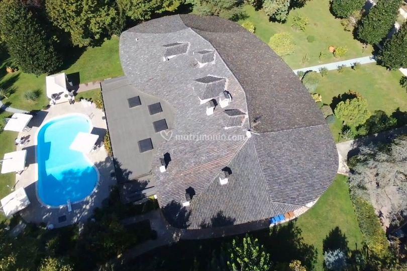 Villa Eden vista aerea