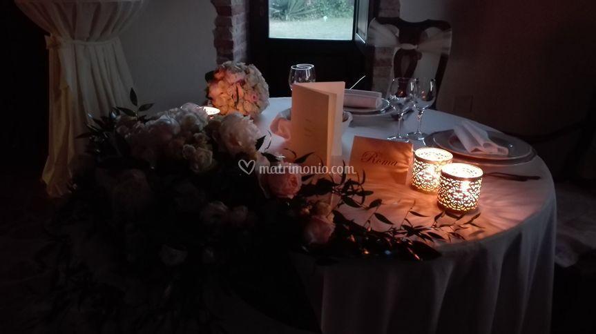 Atmosfera tavolo sposi