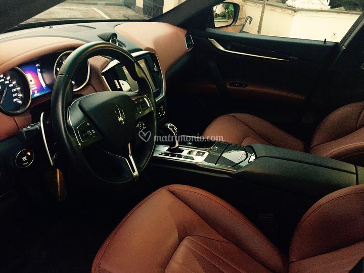 Maserati Ghibli - interni