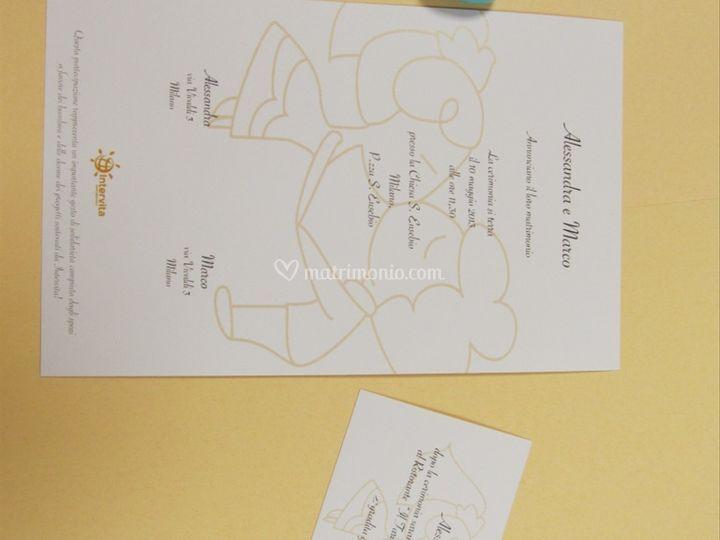 Pergamena Matrimonio Simbolico : Intervita onlus