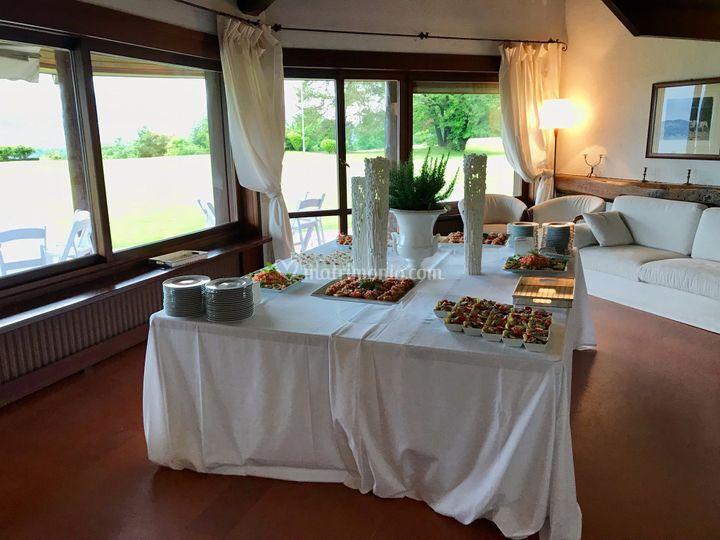 Villa Repui aperitivo interno