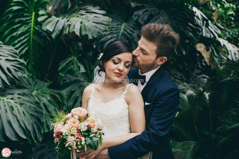 Botanical wedding photography