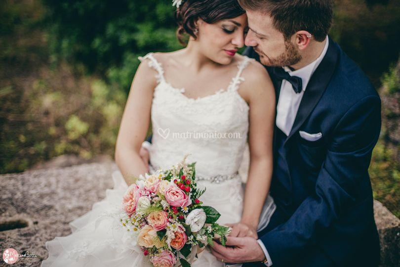 Bohemien wedding sicily