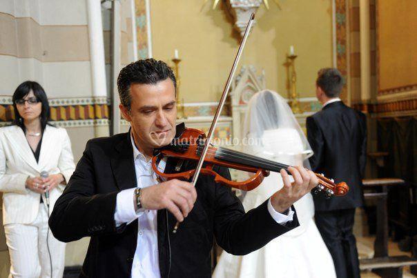 Massimo in  chiesa