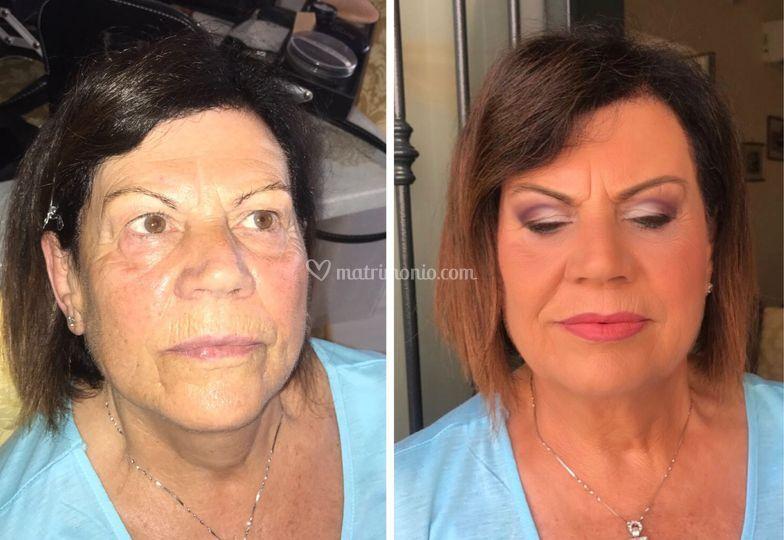 Make-up anti-age