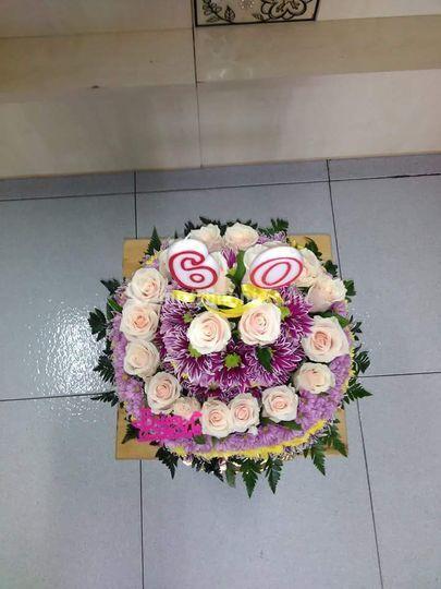 Fiori Compleanno 60 Anni