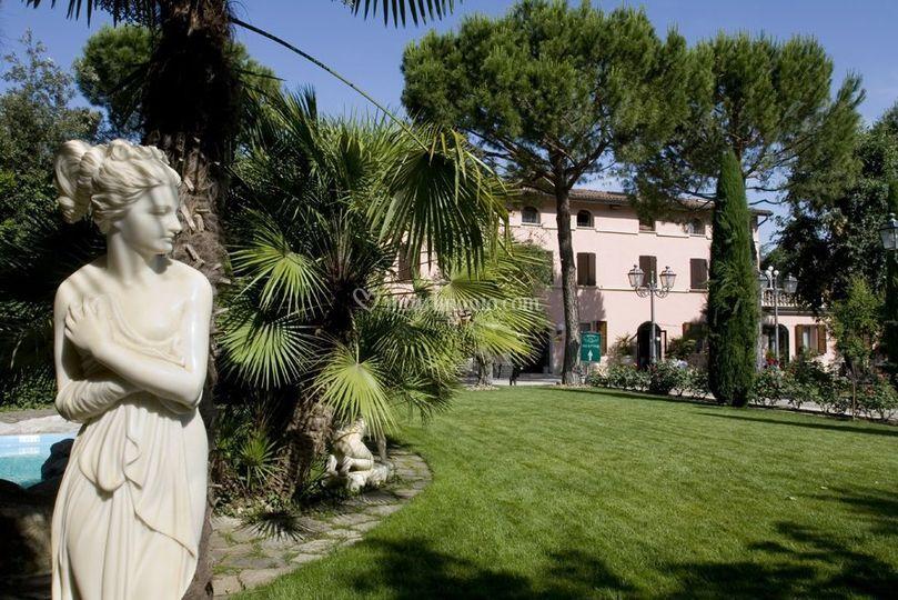 Giardino di Villa '800