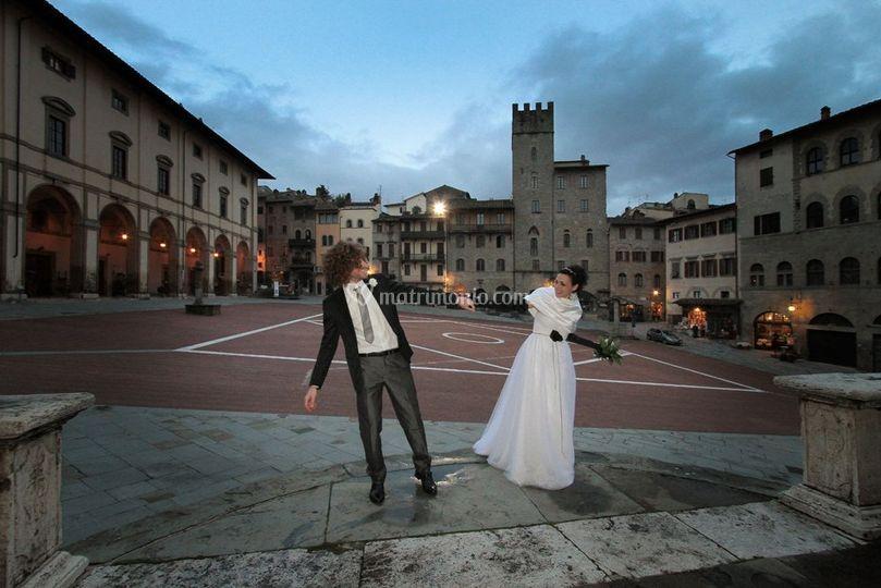 Arezzo - Margherita e Riccardo