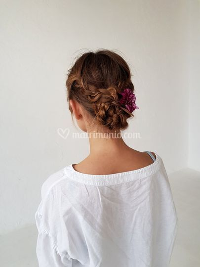 Simple hairstyle by me