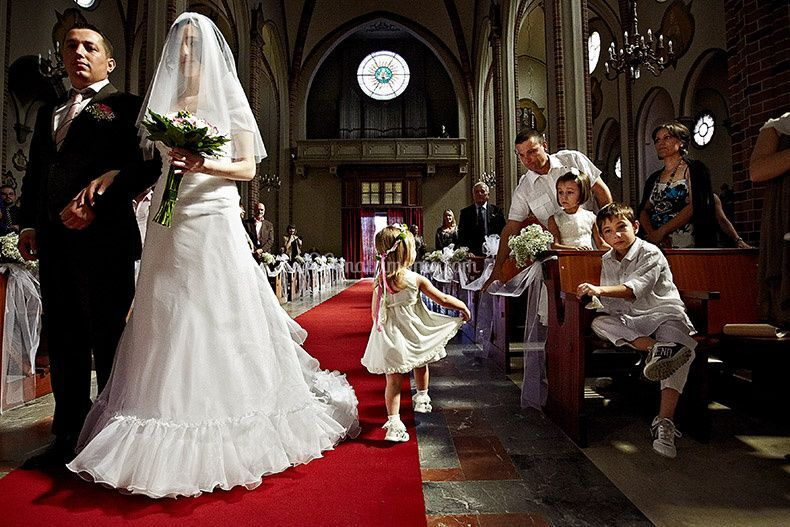 Ingresso sposa Pavia