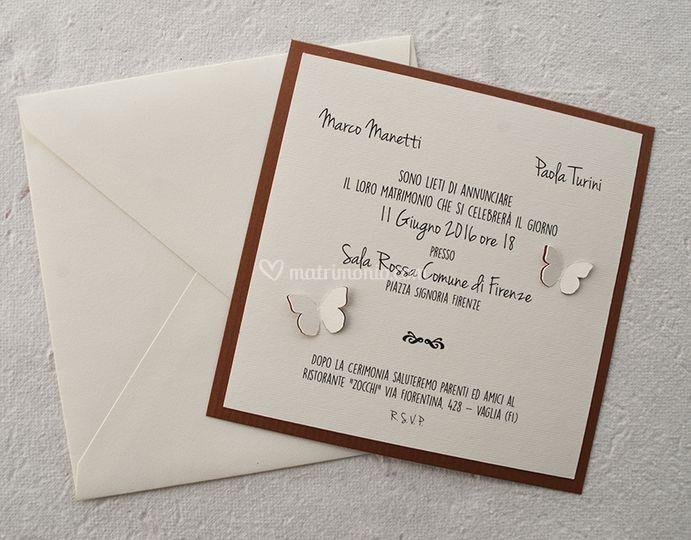 Partecipazioni Matrimonio Firenze.Marg Art