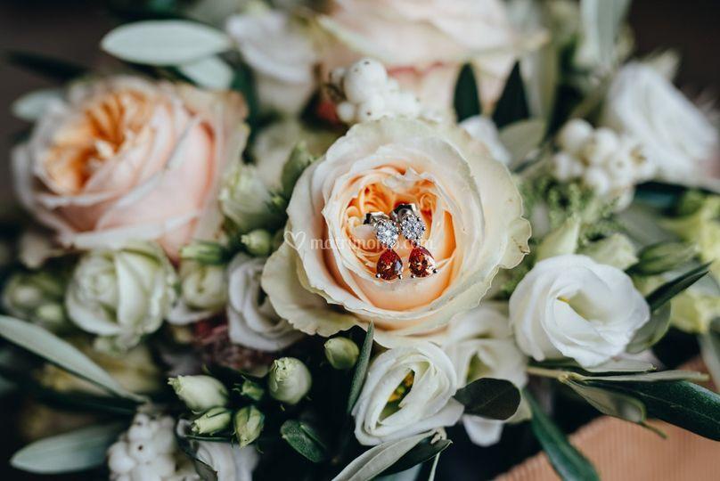 Particolare del bouquet