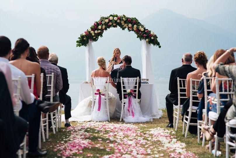 Cerimonia sul Lago di Como
