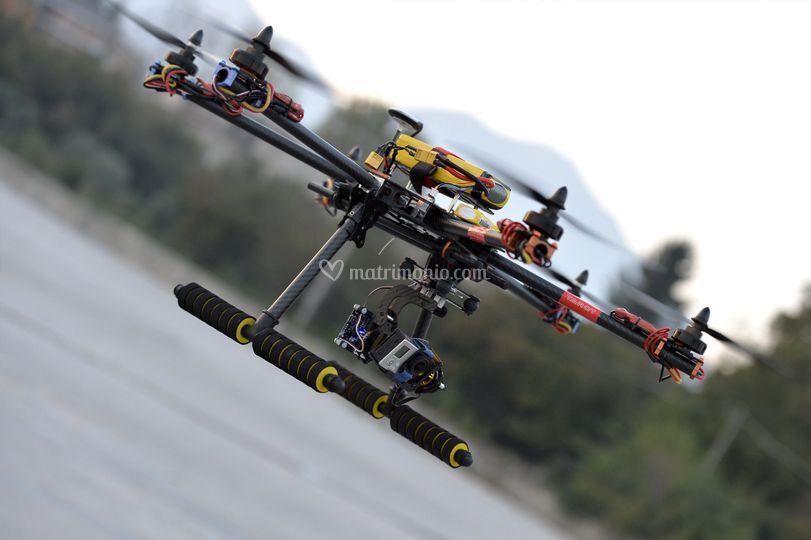 Drone esacottero