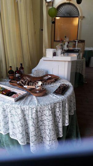 Angolo rum, sigari, cioccolato