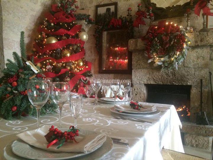 agriturismo tredicina On tavolo natalizio