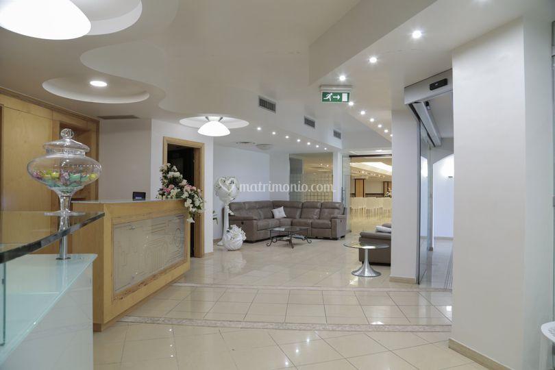 Hall Hotel e Resort Perla