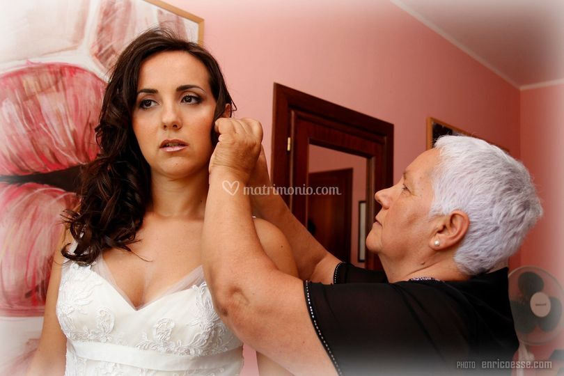 Make-up e hair styling sposa