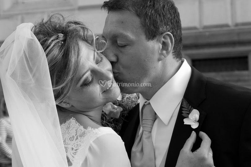 Bacio dello sposo