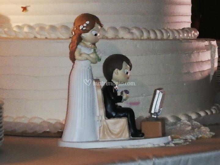 Top torta pesonalizzato