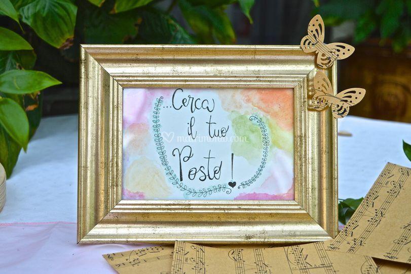5d6c85b95b5 Cerca il tuo posto tema musica di W Gli Sposi Wedding Planner   Foto 54