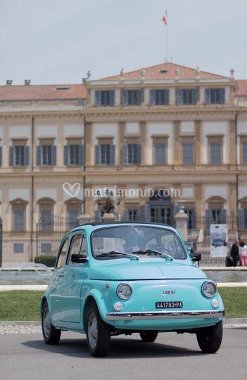 Fiat 500 R Tuchese farfalla