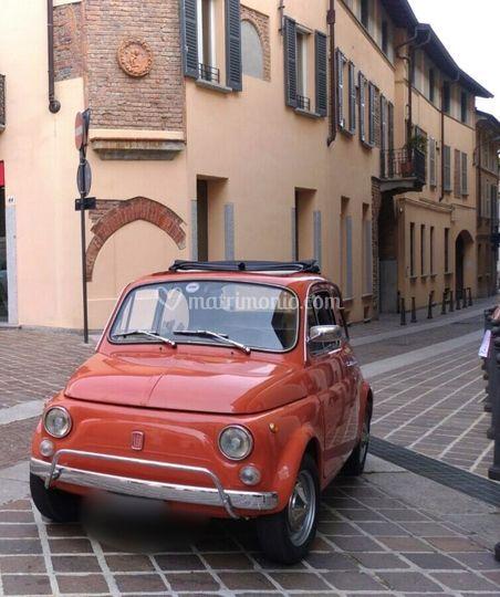 Fiat 500 L Rosso corallo