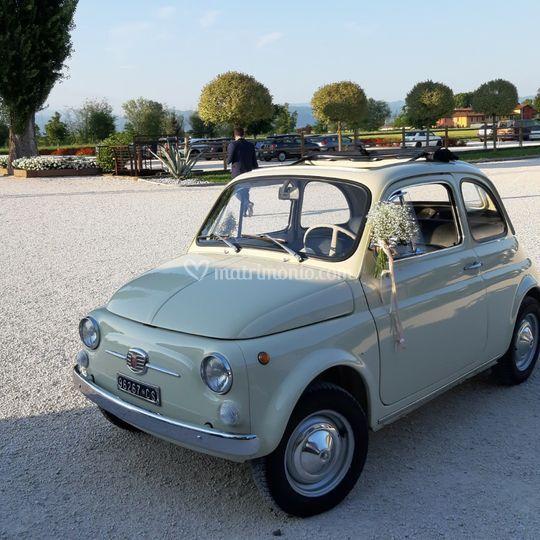 Fiat 500 F Avorio antico