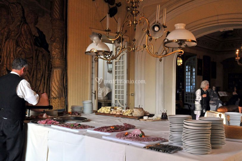 Buffet al castello
