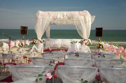 Matrimonio Lido di Venezia in spiaggia