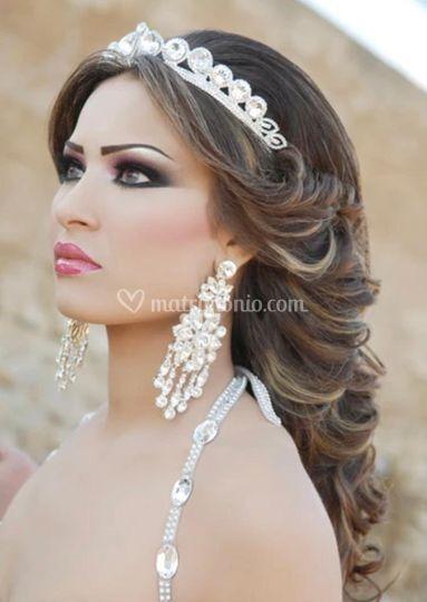Elegant glamourous