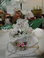 Composizione con orchidee