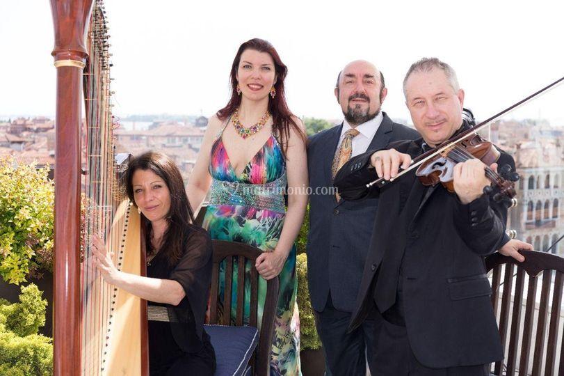 Tenore, Soprano, arpa, violino