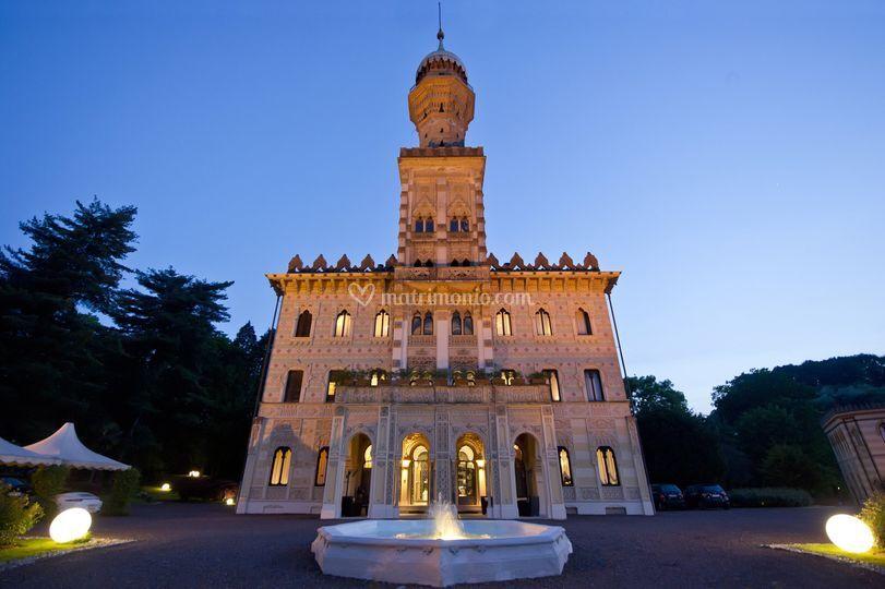 Villa Crespi ingresso