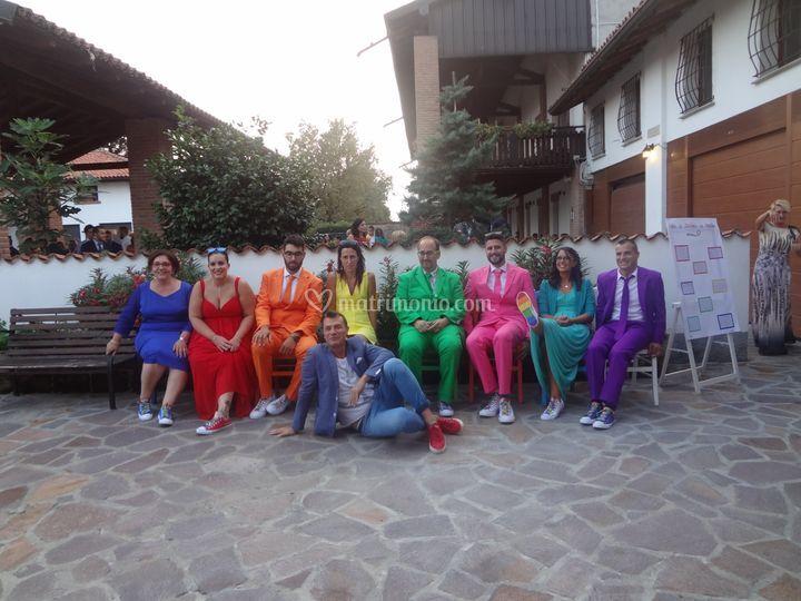 Matrimonio vivere a colori