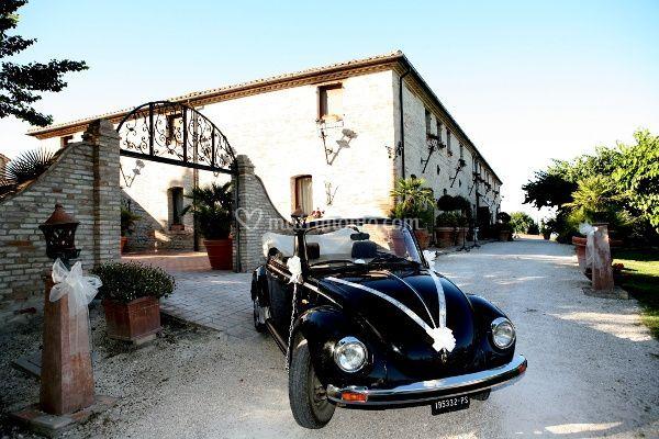 Villa Palombara - Ingresso dal viale