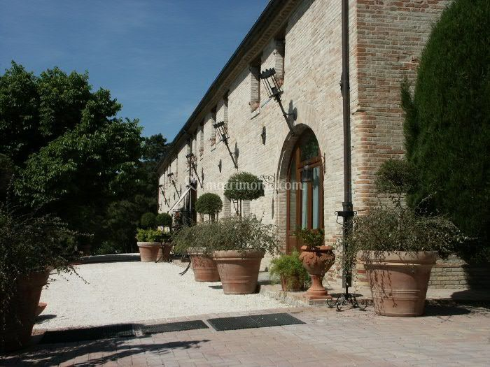 Villa Palombara - L'ingresso