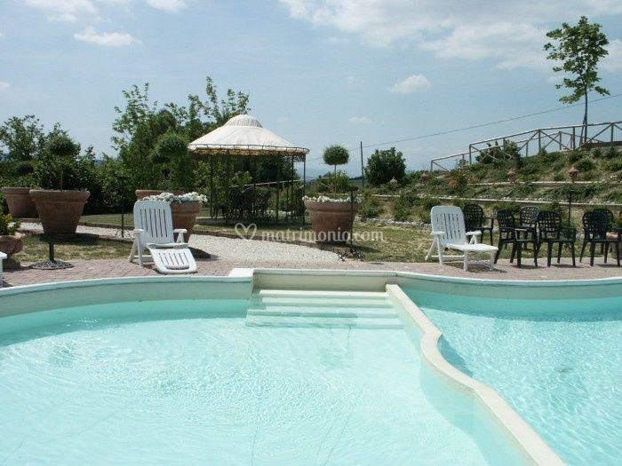 Villa Palombara - La piscina