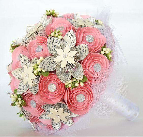 Bouquet in carta