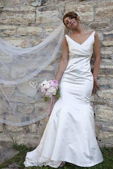 Mazzo di fiori per la sposa